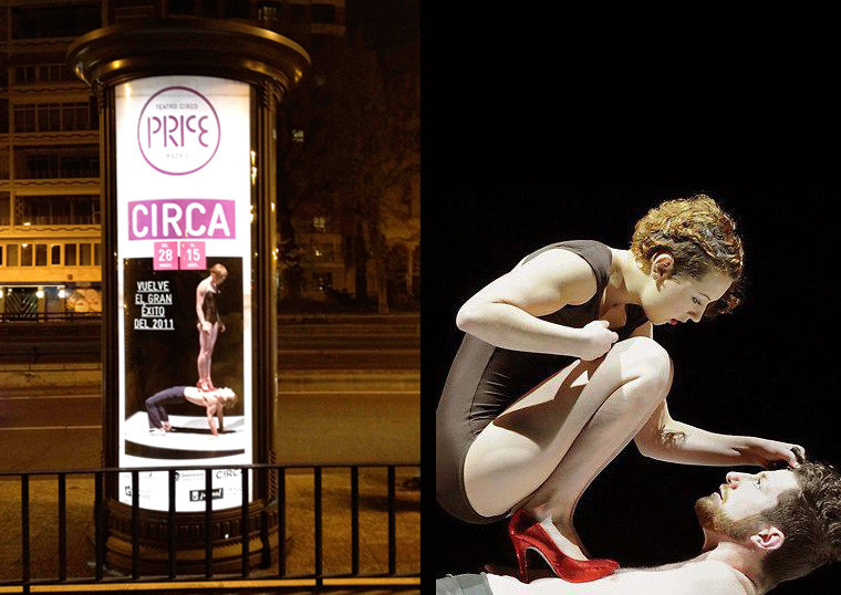 CIRCA by C!RCA Contemporary Circus ©C!RCA