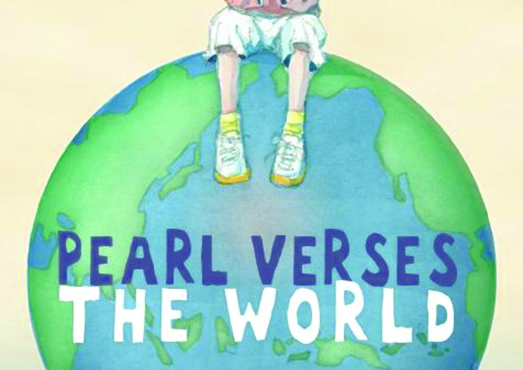 PEARL VERSES THE WORLD, Book Cover by Heather Potter ©Walker Books