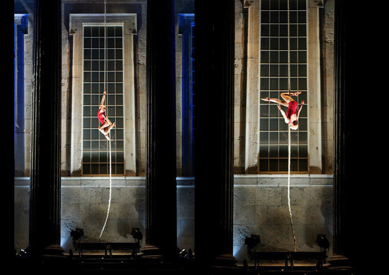 WINGS OF DESIRE, International Dance Festival Birmingham © C!RCA