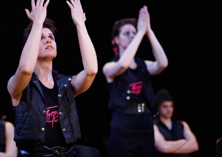 ANTIGONE, Atelier Théâtre, National Institute of Dramatic Art, ©Tahnee McGuire NIDA