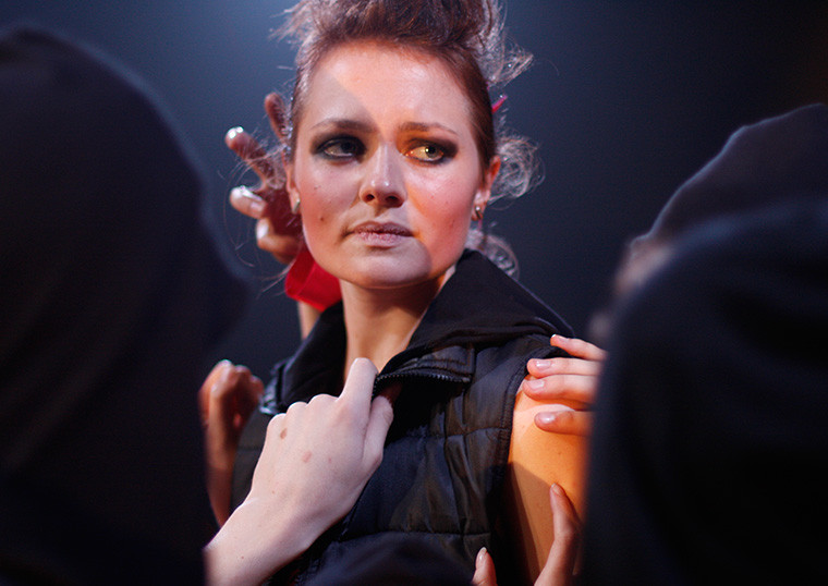 ANTIGONE, Atelier Théâtre, National Institute of Dramatic Art ©Tahnee McGuire NIDA