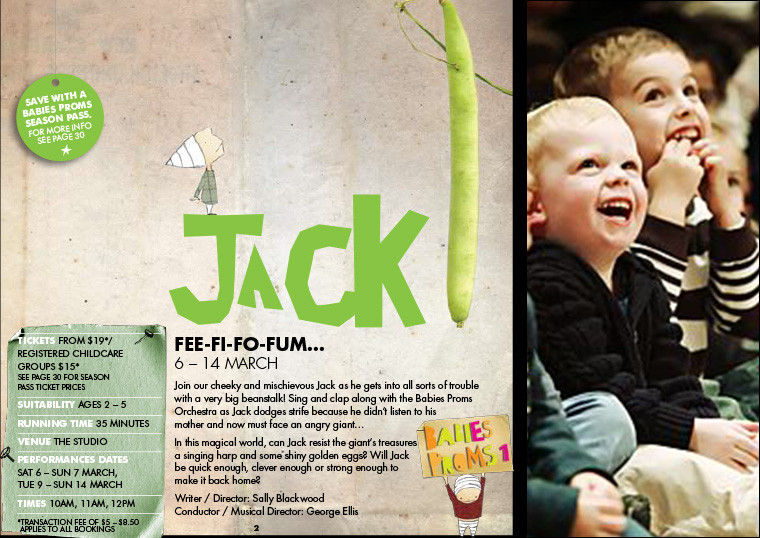 JACK! THE MUSICAL, Sydney Opera House ©Kids At The House