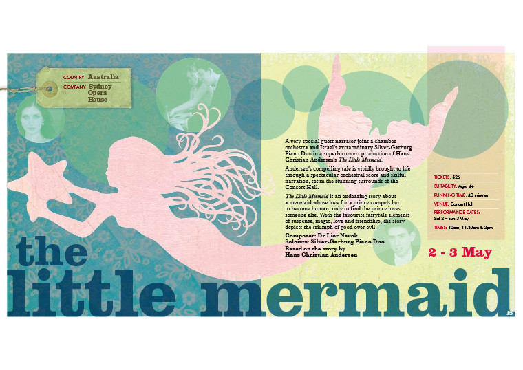 THE LITTLE MERMAID, Sydney Opera House ©Kids At The House